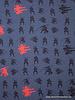Ninja denimblauw tricot