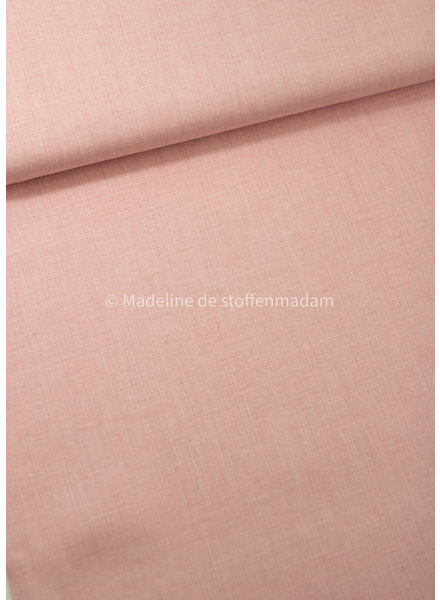pink washed modal linen mix