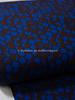 A La Ville cobalt blue and rusty dots - crepe