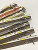 Stockverkoop pakket met 5 ritsen - 25 cm niet deelbaar