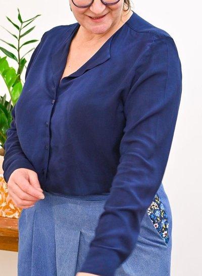 Een tie-dye thea blouse