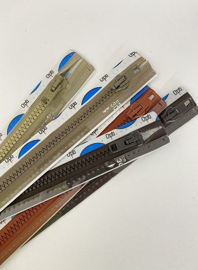 stocksale 5 divisible zippers - 30cm
