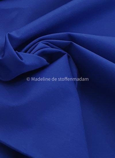 kobaltblauw cotton twill gabardine