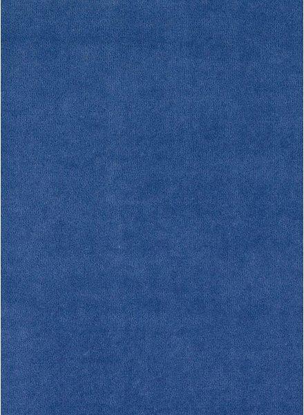 M denim blauw - nicky velours