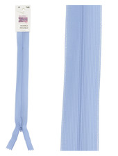 invisible zipper - baby blue color 546