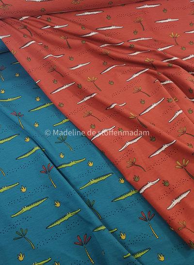 marsala krokodillen tricot