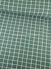 vierkantjes groen - soft sweater gots label