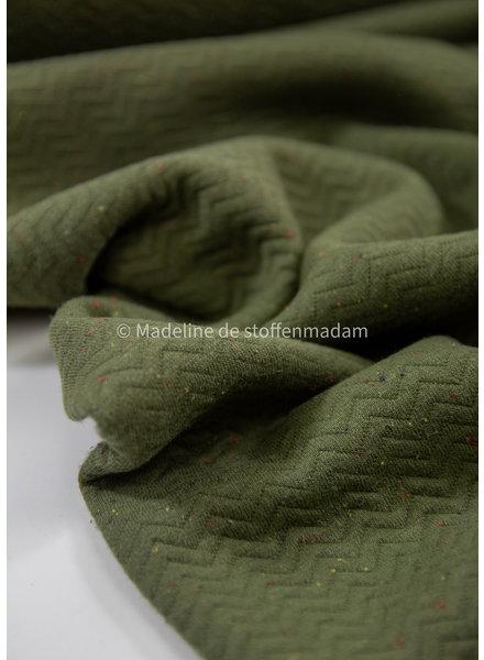chevron quilt green