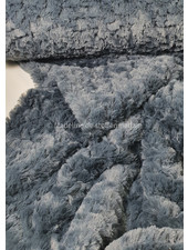 imitation fur / greyblue