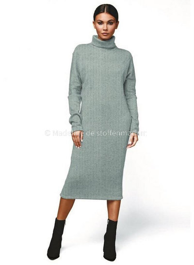 offwhite ribbed knitted recycled