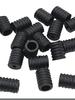 40 pcs - silicone ear-savers - black