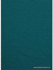 turquoise/petrol streepjes - tricot