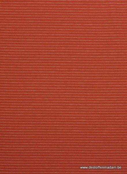 terra coral little stripes - jersey