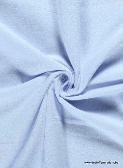 flanel / molton 270 g lichtblauw