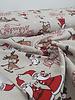 reindeer and snowman - Christmas canvas