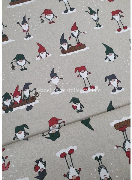 kerstelf - Kerst canvas