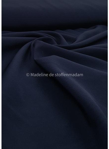 M marineblauw - 4-way stretch - mooie kwaliteit voor broeken