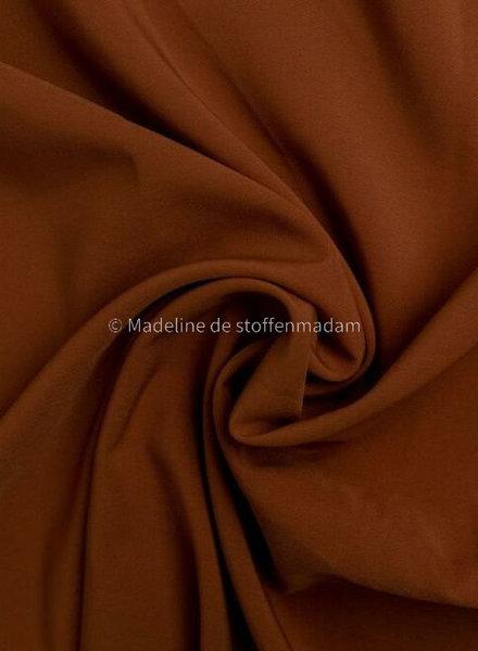 cognac - 4-way stretch - mooie kwaliteit voor broeken