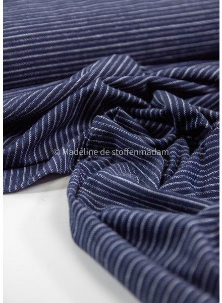 navy stripes - jersey