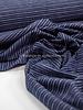navy streepjes - tricot