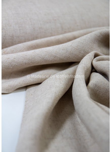 naturel -  linnen viscose mix