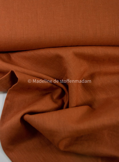 cognac - washed linnen