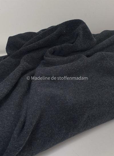 antraciet  gebreide stof van Italiaanse makelij -  Bene