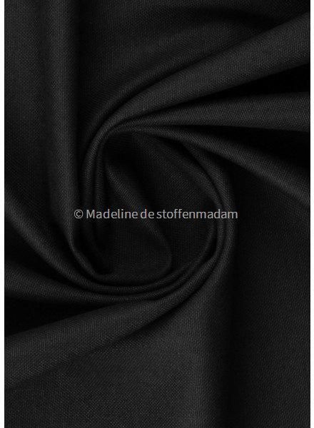 black  - 100%  cotton - soft canvas