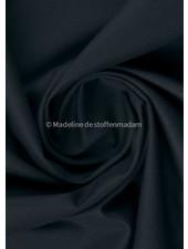 marineblauw   - 100% katoen - zachte canvas