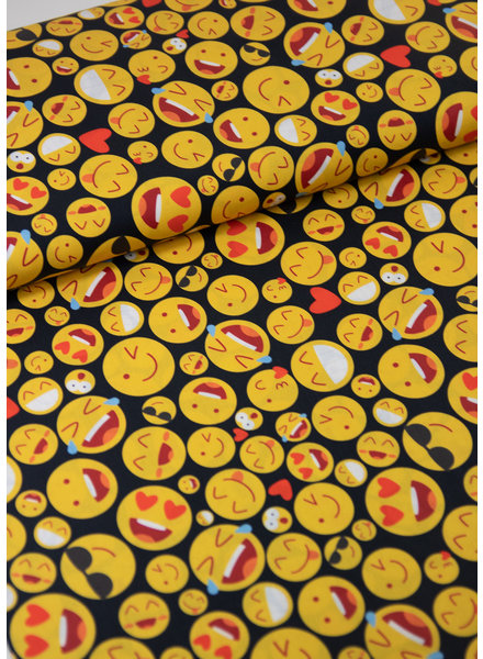 smileys - cotton