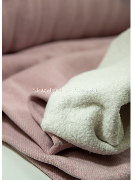Swafing dusty pink speckle - jogging brushed