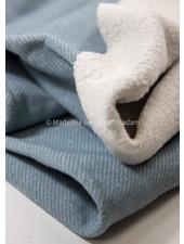 Swafing lichtblauw spikkel - dikke sweater