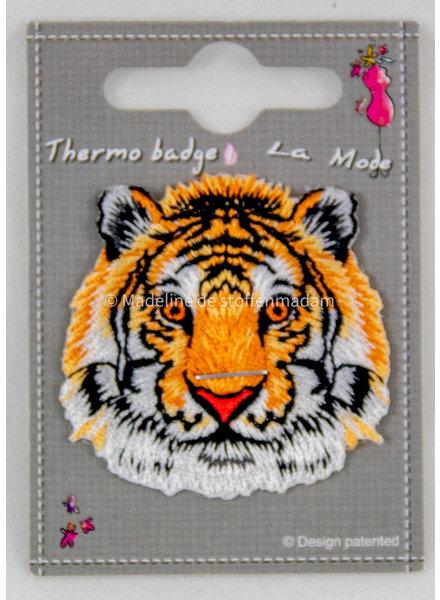 tijger strijkapplicatie - mini