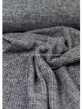black - recycled knitted jacquard