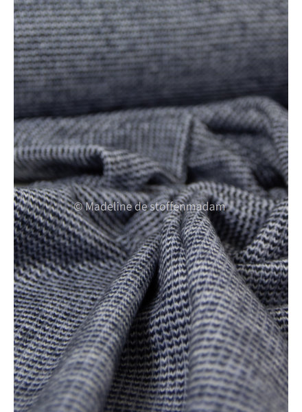 navy - recycled knitted jacquard