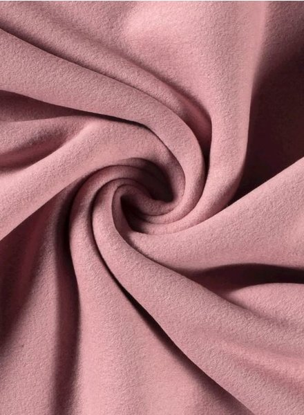 pink - cotton fleece