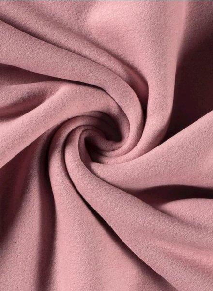 roze - biokatoen fleece