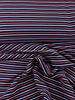 rood/blauw geribbelde structuur tricot