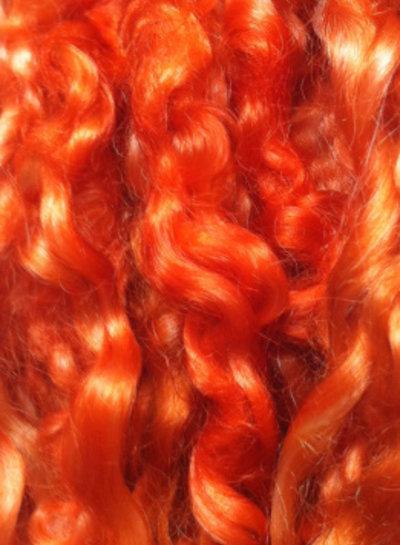 teeswater locks  - koperrood - burnt orange