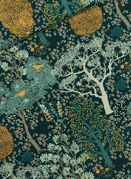 See You at Six Oriental garden  -Gevelgroen -  viscose rayon