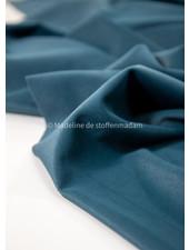 petrol blue vlevet  - supple and soft decocoration fabric