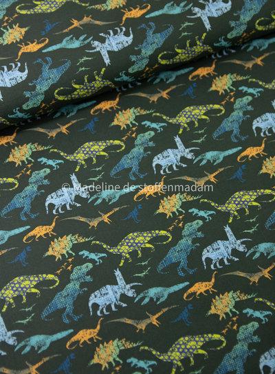 groen dinosaurussen  - katoen