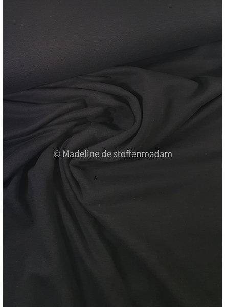 black - soft sweat - gots label