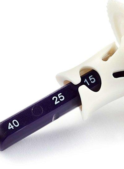 Prym radeerwieltje met dubbele markering
