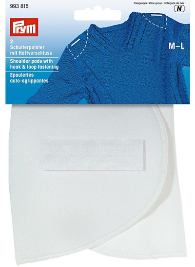 Prym  2 pieces Shoulder pads with velcro - medium / large