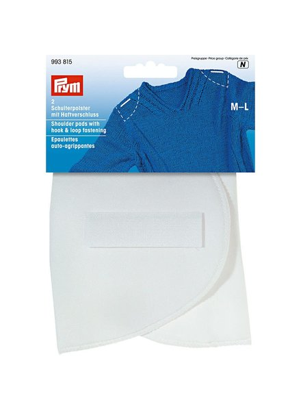 Prym 2 pieces Shoulder pads with velcro - medium / large