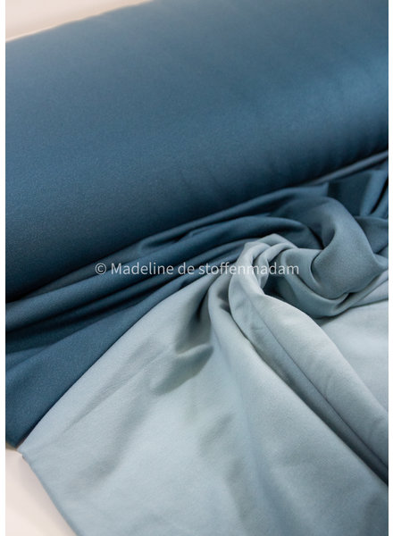 blauw digital dyed - french terry