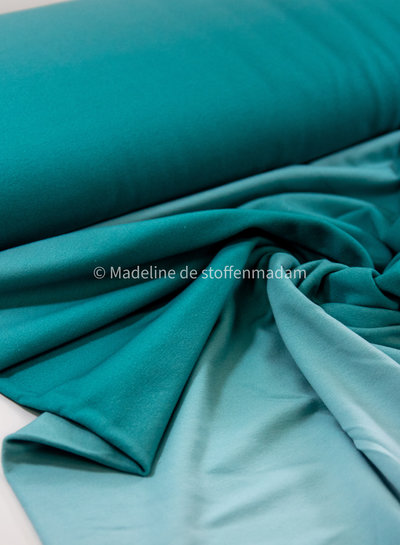 turquoise digital dyed - french terry