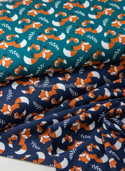 Theo green foxes - jersey