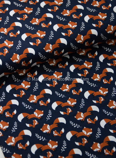 Theo navy foxes - jersey